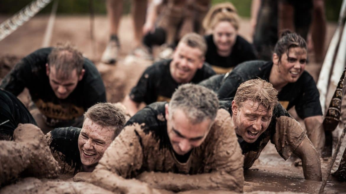 The JCB Mud Run 2013