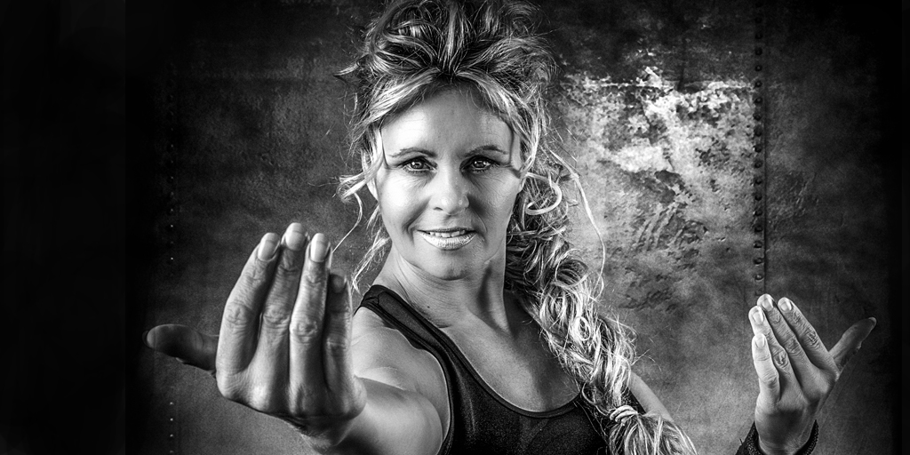 Bianca Karel - Train The Trainers Fitfair Jaarbeurs