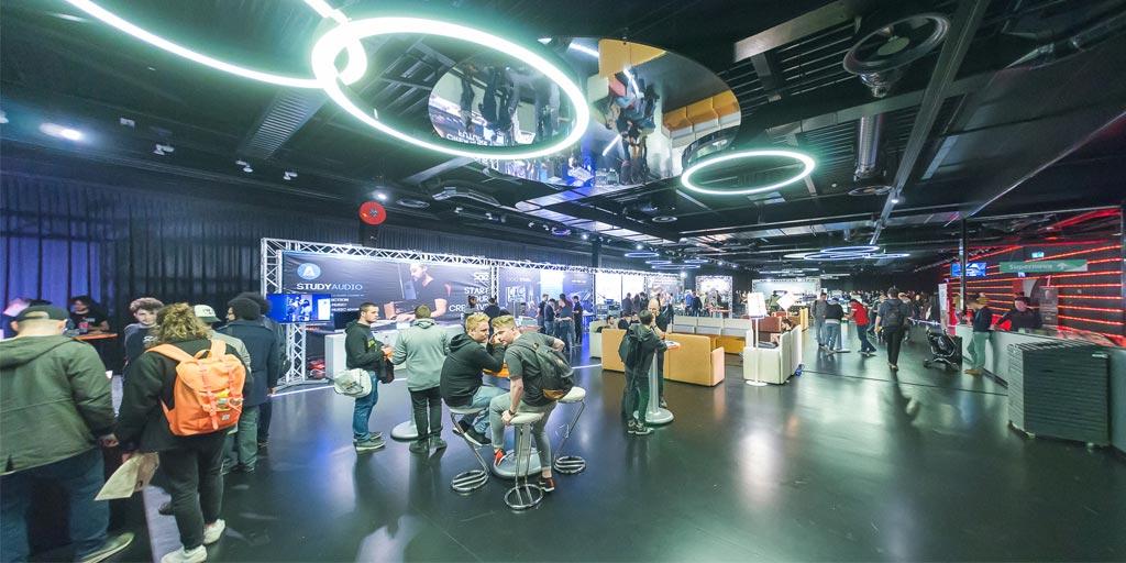 Expo floor Fitfair Jaarbeurs