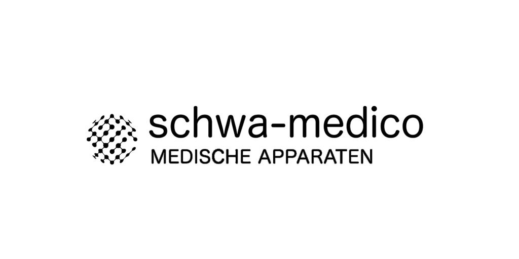 Schwa-medico Medische apparaten logo Fitfair Jaarbeurs