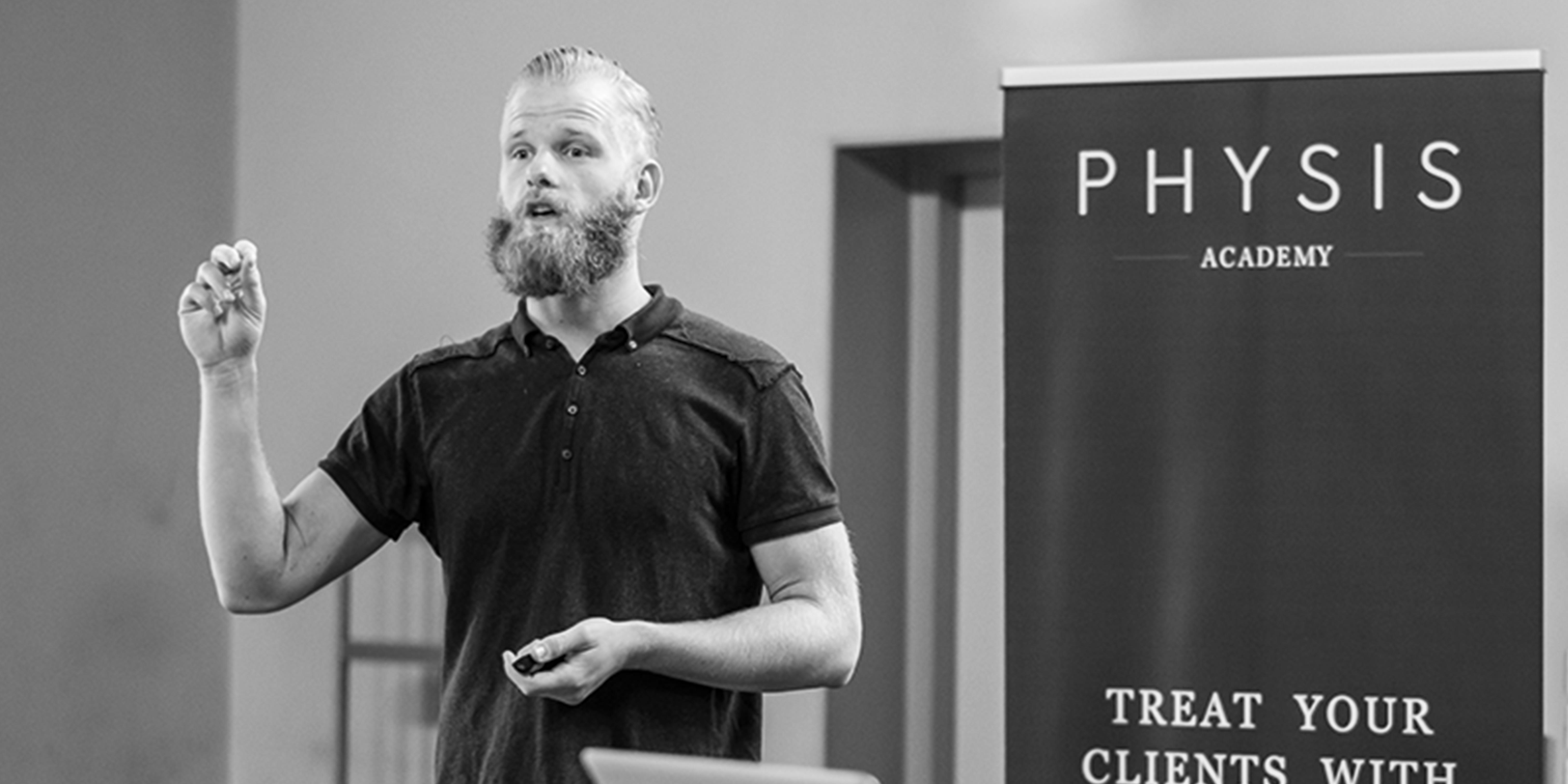 Timo Hans speaker Fitfair Jaarbeurs