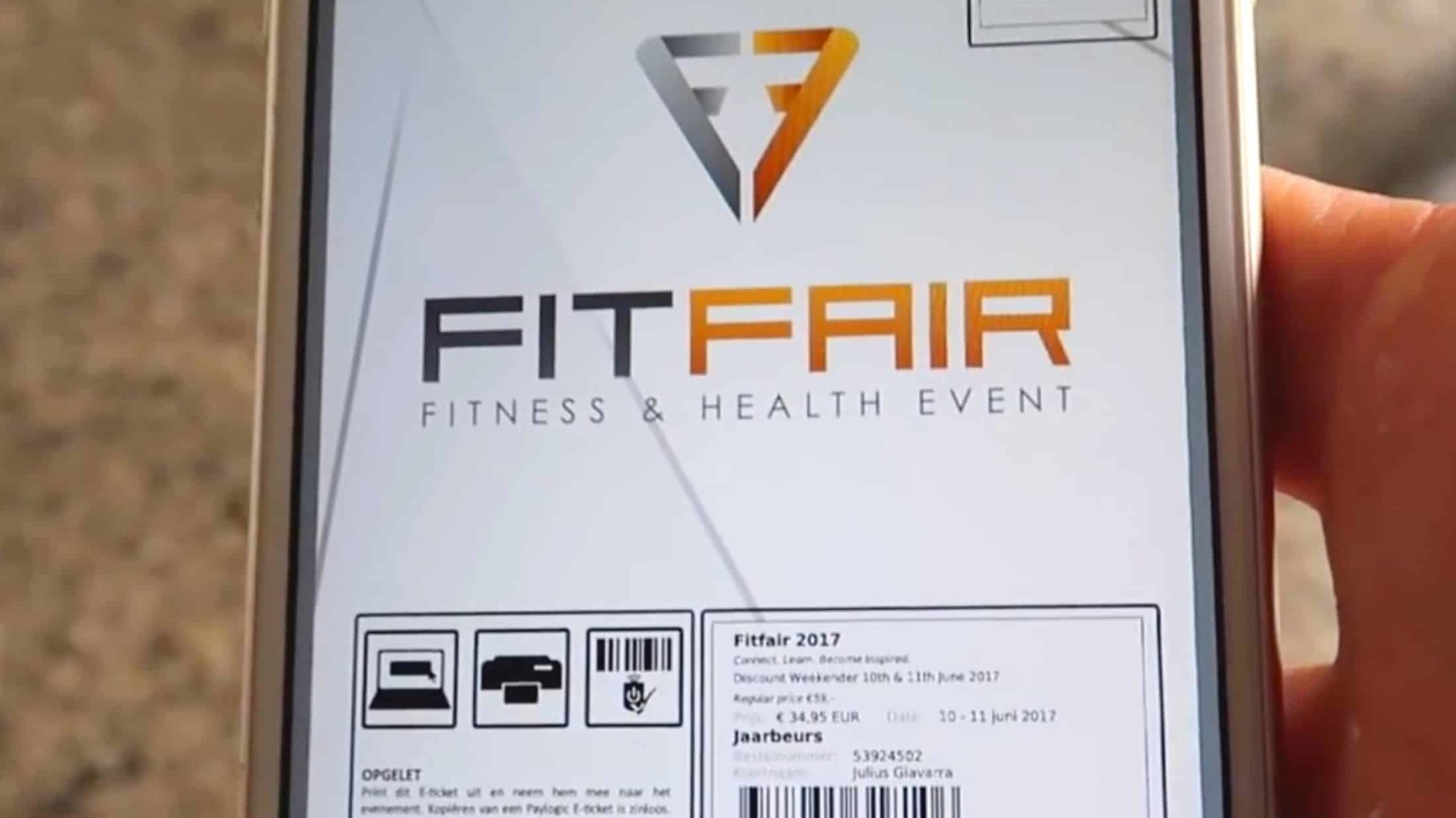 Ticket Fitfair Jaarbeurs