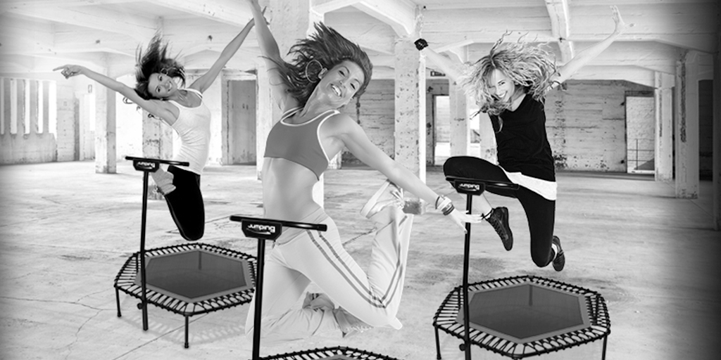Jumping Fitness Team Fitfair Jaarbeurs